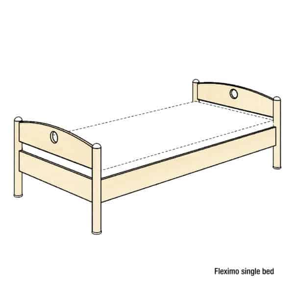 Fleximo single bed