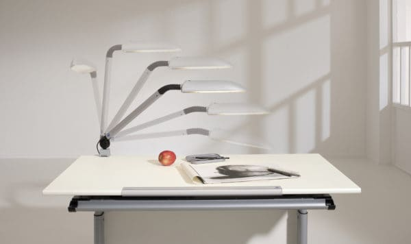 Combo set - Tablo desk with drawer, desk light and chair
