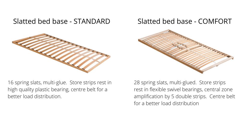 Sten single bed (Grey)