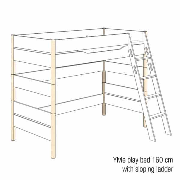 Ylvie play bed 160cm