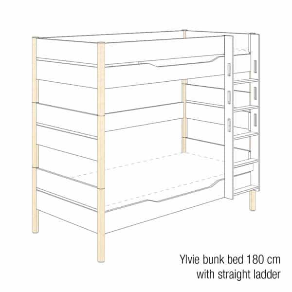 Ylvie bunk bed 180cm