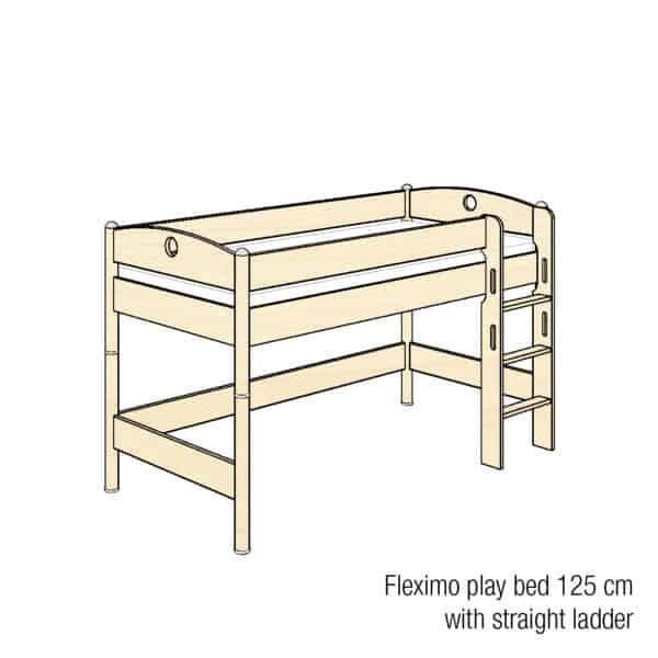Fleximo play bed 125cm