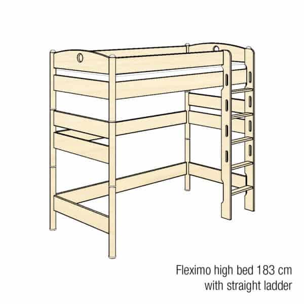 Fleximo high bed 183cm