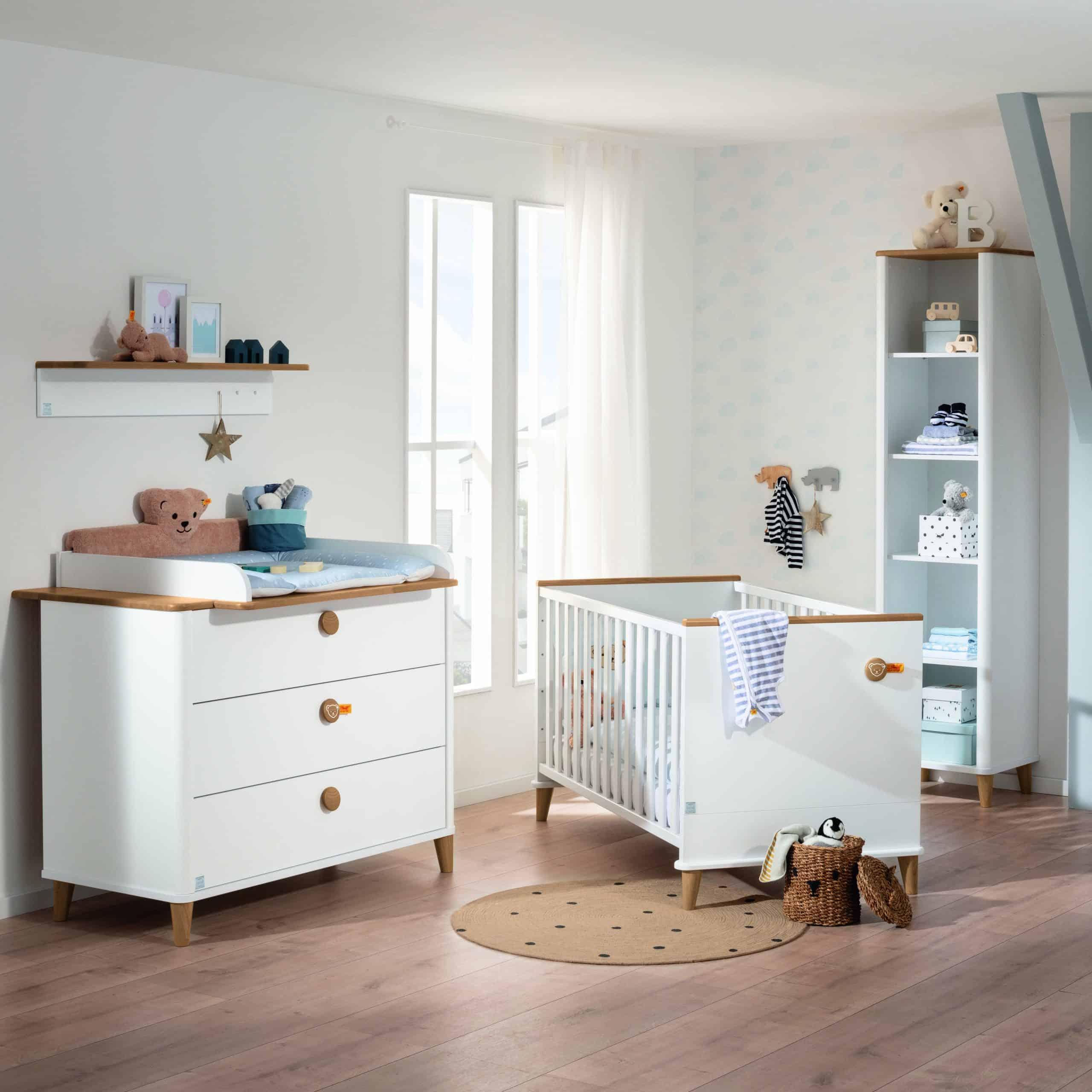 嬰兒床和更換尿布枱–不僅僅是一件普通的家具